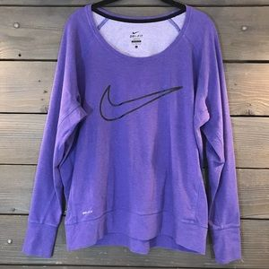 Nike Lightweight Sweatshirt Size L